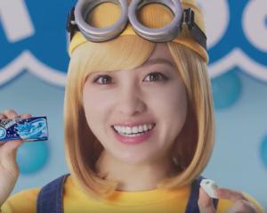 ぷっちょxミニオンCM女優
