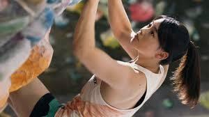 リポビタンD女性ボルダリング