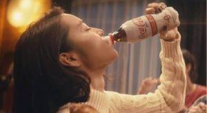 トクホのコークCM女優