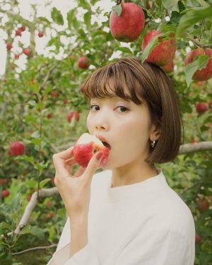 三角チョコパイCM女優