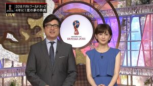 ワールドカップ・キャスター