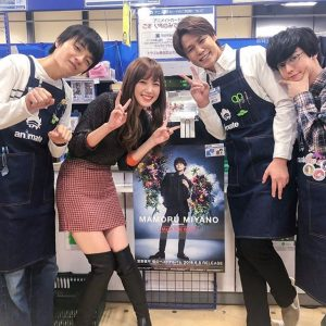 LINEモバイルCM女優