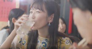 酔わないウメッシュCM女優